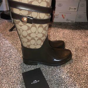 Coach Shoes - Authentic Coach Rain Boots